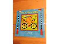Bear on a Bike and Bear in the Sunshine by Stella Blackstone x2 BRAND NEW paperback books