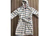 Mini Boden fluffy children's dressing gown