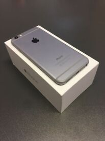 iPhone 6 - 16GB or 64GB - new condition - grey - New original accessories - sim free