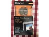 TEKNIQUE FULL HD ACTION CAMERA - NEW