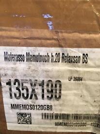 New relaxsan double memotouch Mattress