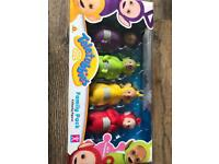 Teletubbies family pack 4 chunky figures