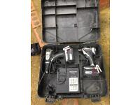 Panasonic impact driver drill twin set