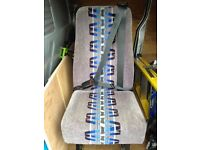 Single van seat ideal for van conversion The seats are very good condition