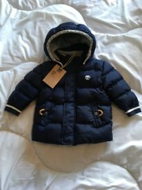 Baby boys Timberland coat