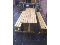 7 Ft Picnic Bench, table etc