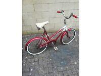 Classic Retro Bicycle 1970s bike Ladies Gents Cycle Unisex bike Vintage Cycle