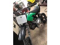 110 pitbike spares repairs. Runs