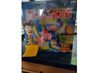 Toy story junior monopoly