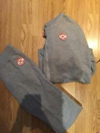 Converse all star grey tracksuit 13-15 years