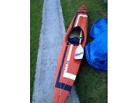 Kayak good condishon with pdle