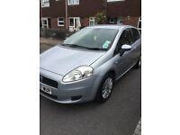FIAT GRANDE PUNTO SPORT LOW MILAGE QUICK SALE PERFECT FIRST CAR £1600 JUST DONE MOT AND VALET