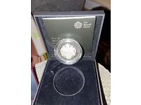 The Royal Birth 2015 £5 Silver Proof Coin - free P & P