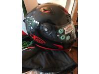 X-lite x802RR ultra carbon puro red race helmet size XL