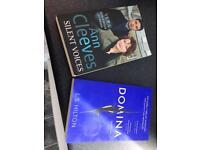 2 BOOKS THRILLER GREAT CONDITION