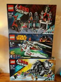 3 Brand New Lego Sets!
