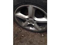 Vauxhall Sri alloys