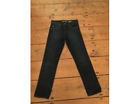 New Jeans Dark Wash Denim Skinny Fit for 7 year old, USA Import