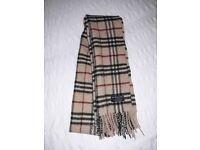 Genuine Burberry scarf