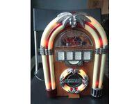 Jukebox / Mini Radio with lights