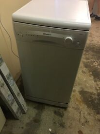 Candy slimline dishwasher
