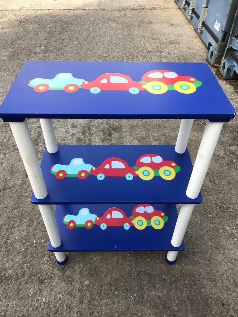 Small shelf unit for boys room FREE DELIVERY PLYMOUTH AREA