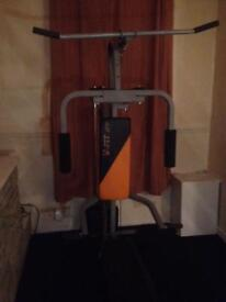 Multiethnic gym good working order ideal for garage or big room will accept offers