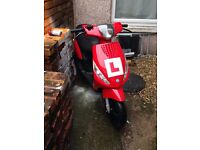 piaggio Zip 50 2t Only 2.3k Miles, Year 2013