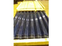 """Clear Plastic Corrugated Sheets 8' x 24"""""""
