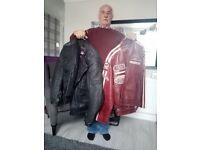 Motor cycle jackets