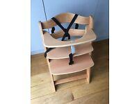 Wooden highchair