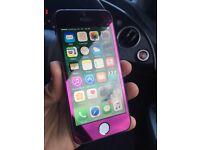 I phone 5 5s button Purple 16Gb excellent condition
