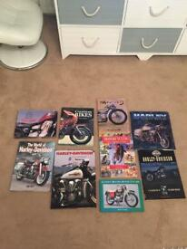 Twenty Harley Davidson books