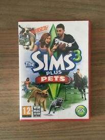 The Sims 3 Plus The Sims 3 Pets Expansion Pack PC/Mac Game Bundle