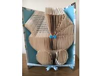 Book fold Art