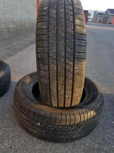 2 PNEU ETE - MICHELIN 235 60 17 - 2 SUMMER TIRES