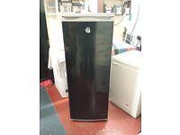 swan 5 foot tall black larder fridge