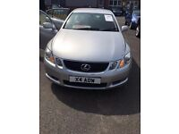 Lexus GS 450H SE A Hybrid 2007 Private Plate Number Leather interior 1 year MOT 5 seats