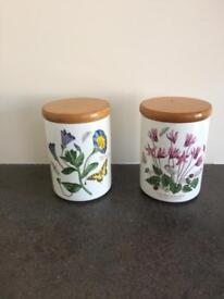 Portmeirion Botanic storage jars