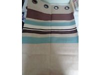 """Curtain with lined 44""""W X 53 """" L brand new"""