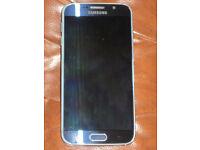 Samsubg S6 Galaxy immaculate condition no cracks unlocked . may swap ipone6 plus unlocked