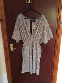 Asos sequin dress size 8 *new*