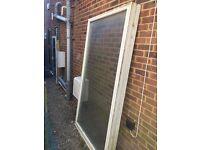Free Double Glazed Timber Window - size 1.20m x 2.15m
