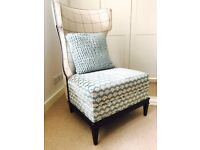 Bolier&Company designer wing armchair reading chair - RRP £2500+