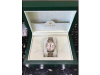 GENUINE BI METAL ROLEX DATEJUST 36mm