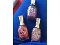 Sally Hansen gem crush nail polish