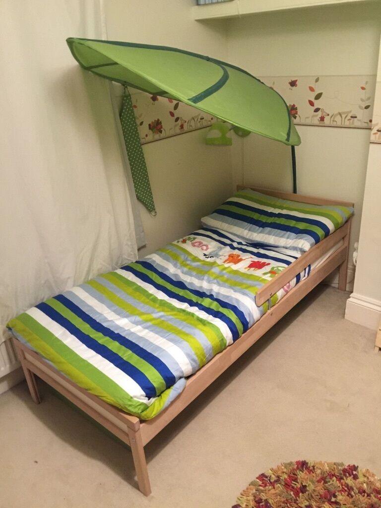 Ikea Sniglar Bed Mattress Lova Canopy Skojig Wall Lamp