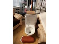 Close coupled toilet unit for sale new all fittings included