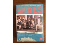 Girls Series 1 and 2 DVD box sets. Unopened and sealed