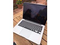 """Apple MacBook Pro 13"""" Retina 2015 2.7GHz i5 128GB SSD 8GB RAM A1502 Warranty"""